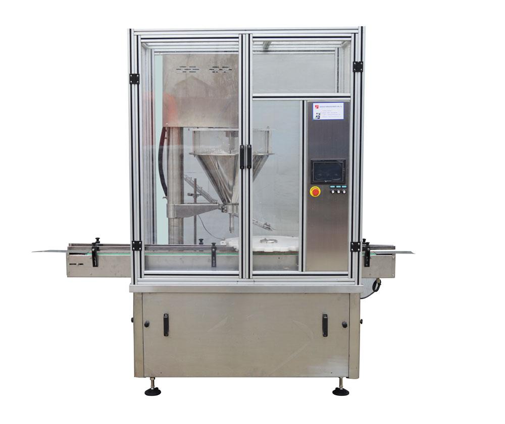 YB-F1/ YB-F2 全自动粉剂灌装旋(轧)盖机