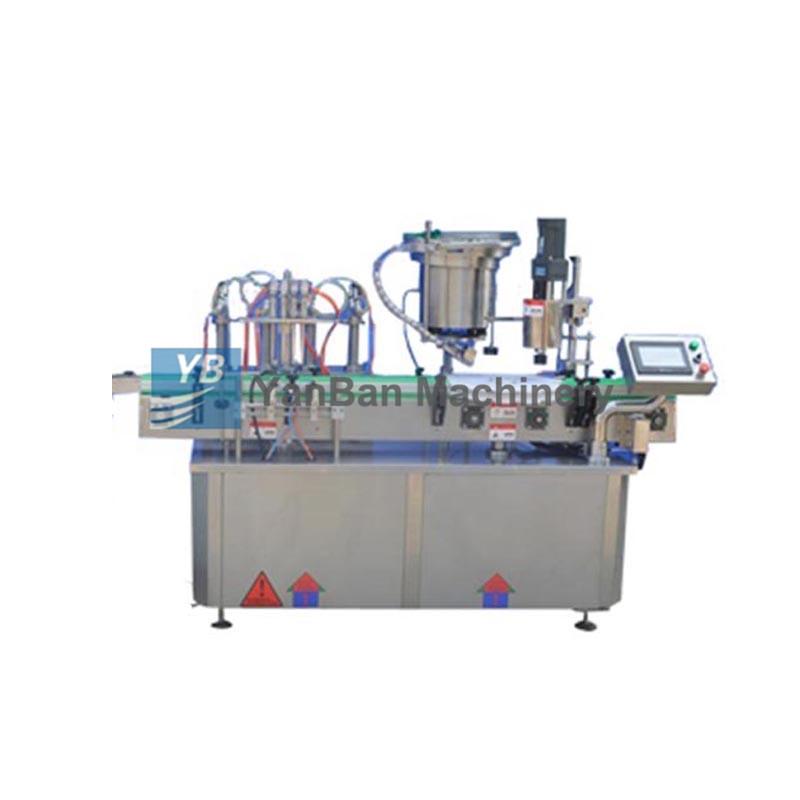 YB-YG4/YB-YG6糖浆、饮料、油全自动液体灌装旋(轧)盖机