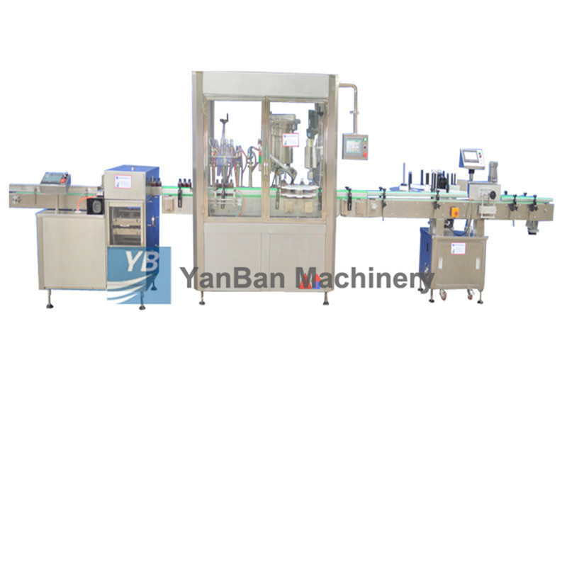 YB-YG4/YB-YG6消毒液、注射液、酒精全自动液体灌装旋(轧)盖机