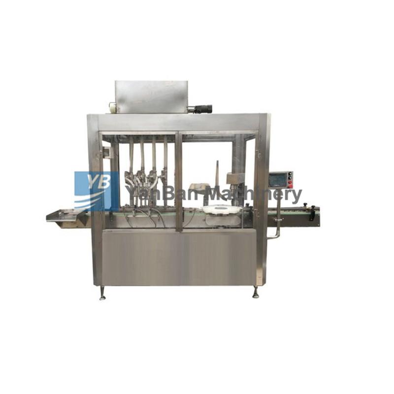 YB-YG4/YB-YG6液体钙、酒、液体肥料全自动液体灌装旋(轧)盖机