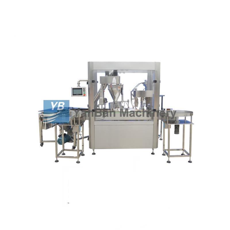YB-F1/YB-F2 全自动粉剂灌装旋(轧)盖机