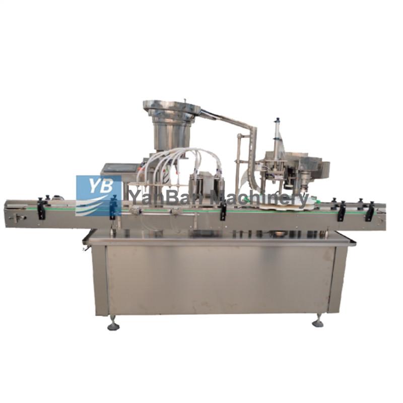 YB-YG8 全自动液体灌装旋(轧)盖机