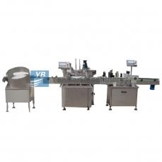 恩平YB-YX2/YB-YX4全自动电子烟油、滴眼液灌装生产线