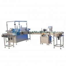 恩平YB-Y2 Y4全自动电子烟油、滴眼液灌装生产线