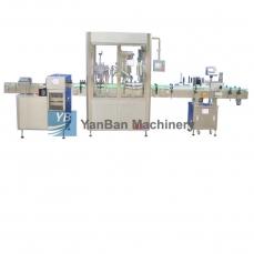 恩平YB-YG4/YB-YG6消毒液、注射液、酒精全自动液体灌装旋(轧)盖机
